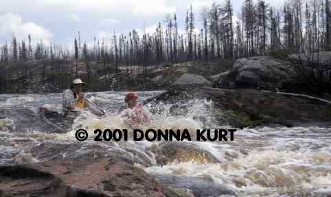 Manigotagan River, Copyright © Donna R. Kurt